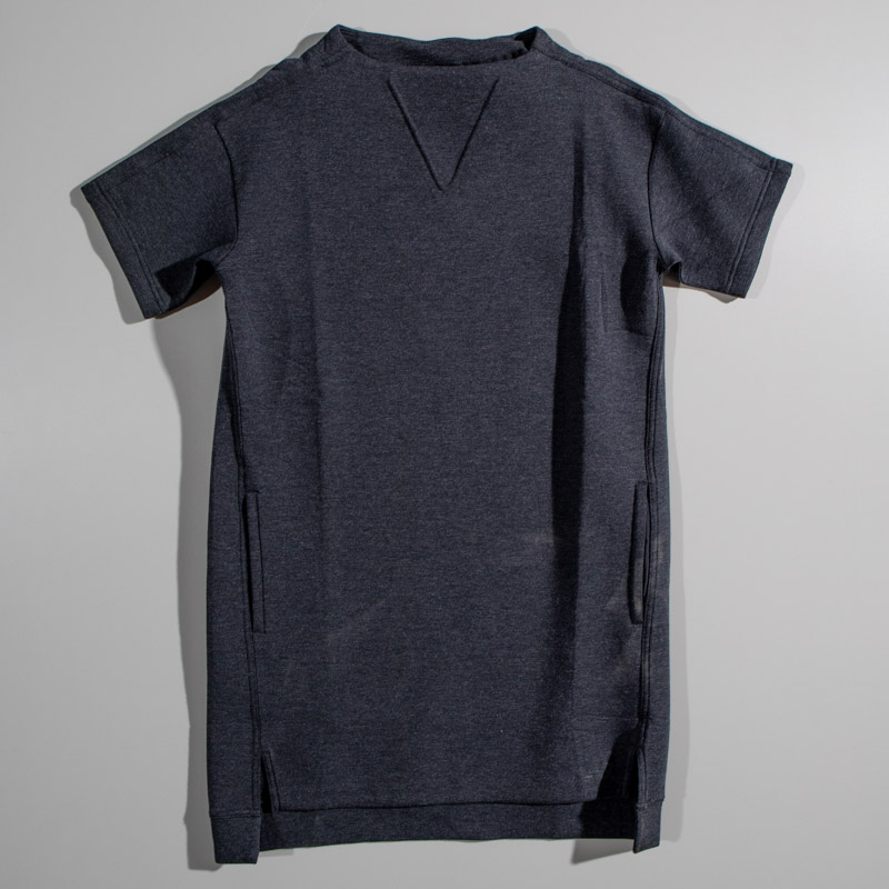 New Balance Relaxed Cut Drk Grey Top