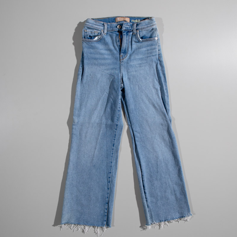 7 For All Mankind Luxe Vintage Cropped Alexa Denim