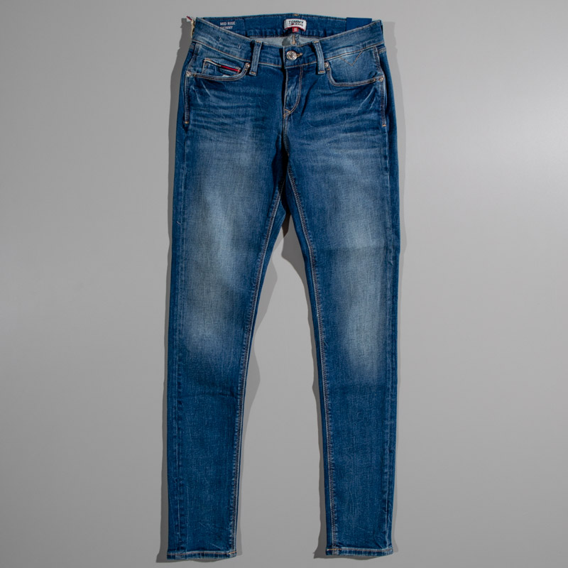 Tommy Mid Rise Skinny Jeans
